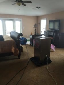 water damage remediation