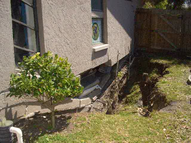sinkhole damage to home insurance claim