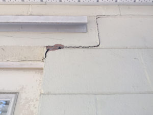 Brick exterior damage claim